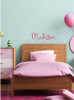 Madison Wall Decal Name Holiday Springs font in Lipstick