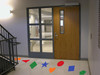 Sensory Path Floor Decal School Hallway Shapes Stickers 4 Sets, Colors