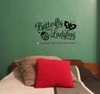 Girls Wall Decals Stickers Cool Room Decor Wall Art Vinyl Graphics Black