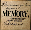 Someone You Love Memory Treasure Vinyl Wall Decal Sympathy Quote