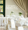 Together Forever For Better or Worse - Wedding or Bedroom Wall Decal White