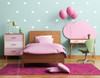 2 inch Heart Shapes 28 pc White Wall Decal Stickers Shapes - Easy peel n stick application