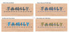 Wall Decals Color Options for DIY Family Celebrations Vinyl Stickers