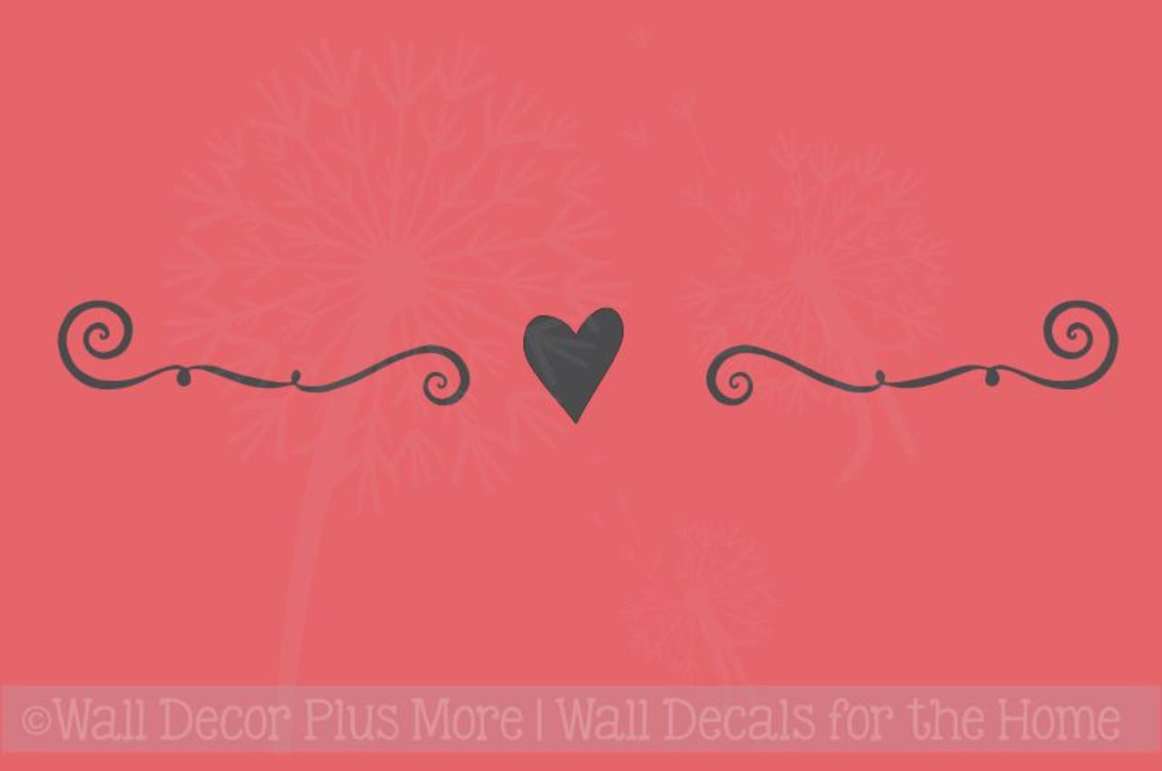 Heart Design Wall Art