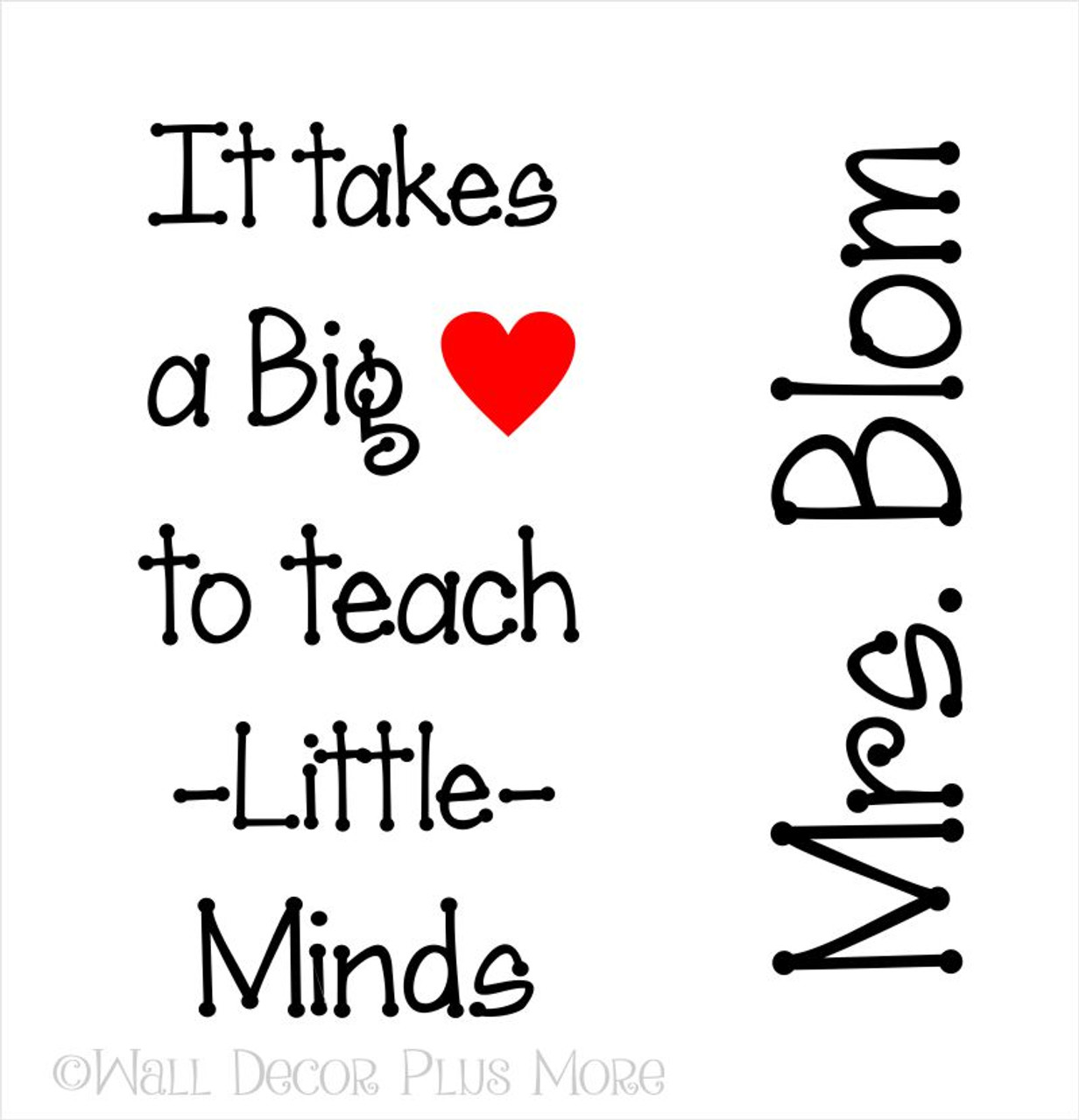Glossy Vinyl Decal Stickers For Teacher Customized With