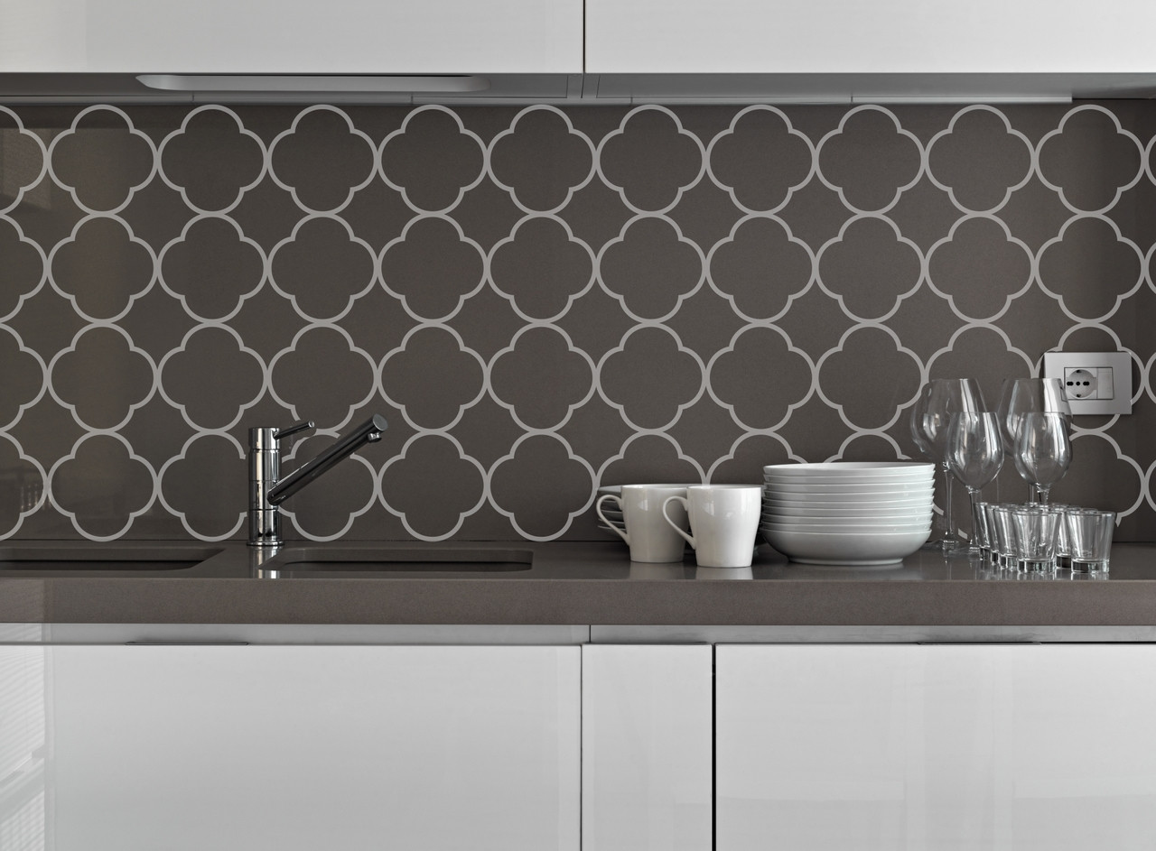 - Quatrefoil Pattern Vinyl Wall Decal Sticker Shapes For Wall Décor