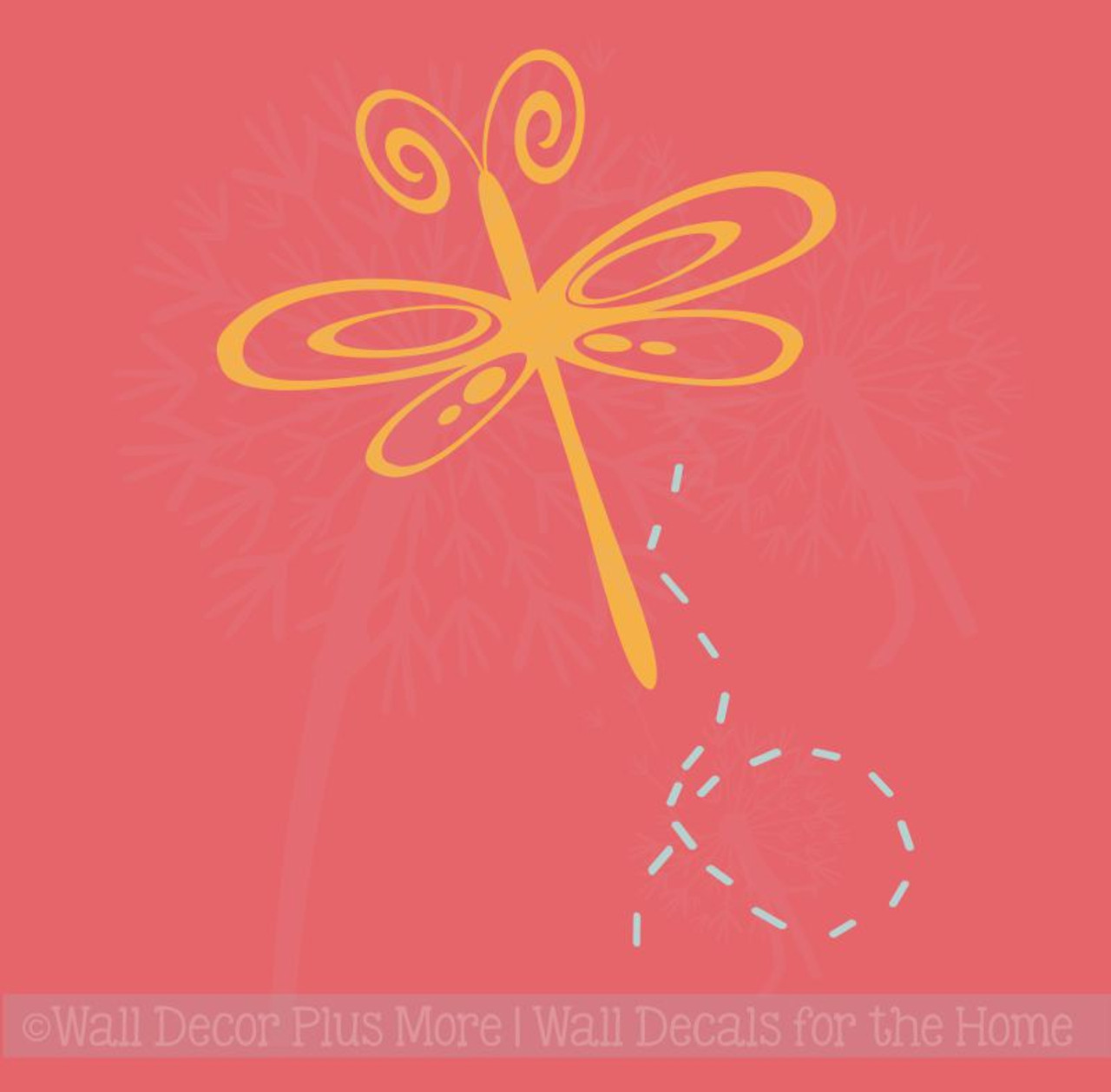Dragonfly Family Car Decal Sticker Custom Personalized