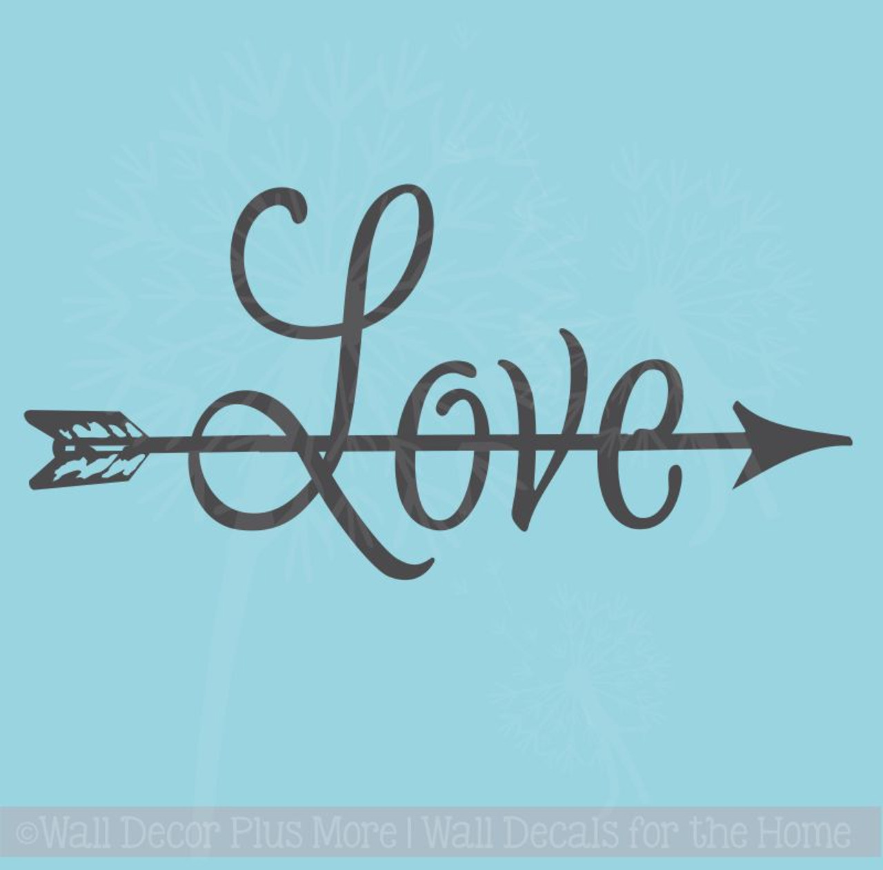 Amazon Com Fashion Love Arrow Decal Living Room Bedroom Vinyl Carving Wall Decal Sticker For Home Decoration Love Arrow Arts Crafts Sewing