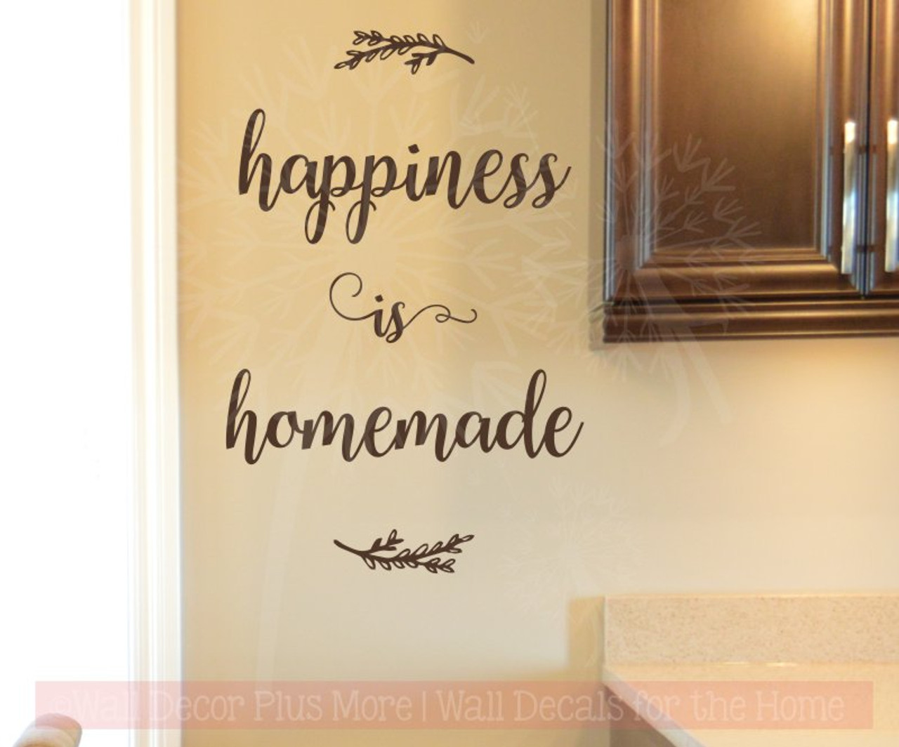 Home Decor Quotes On Wall Part - 19: Wall Decor Plus More
