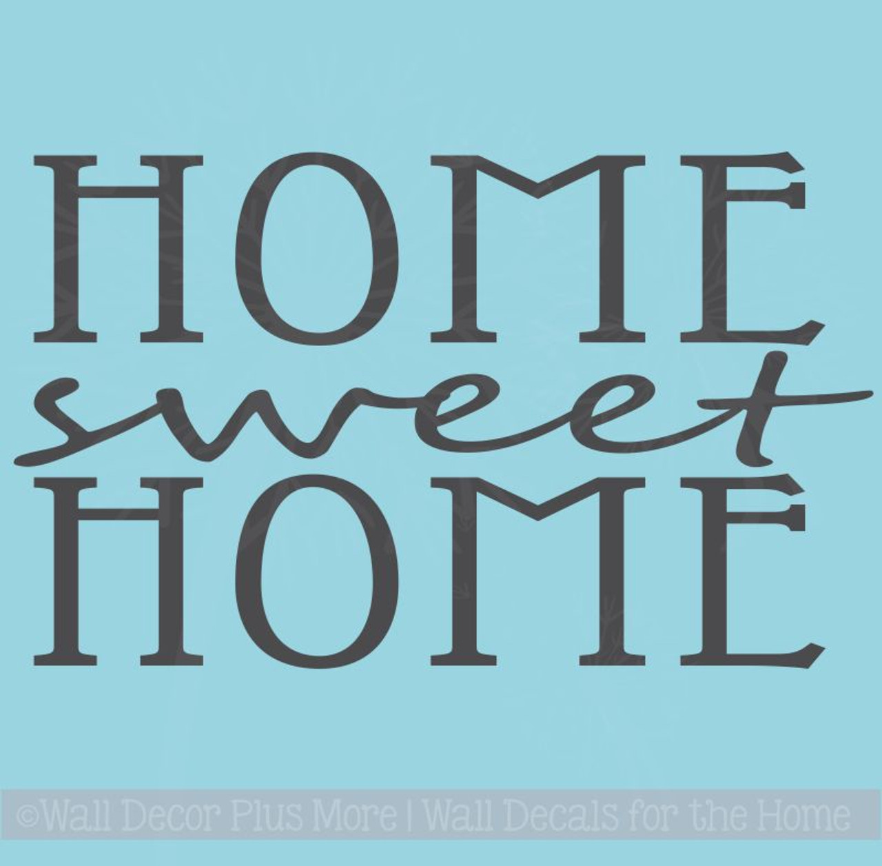 Home Sweet Home Kitchen Wall Stickers Vinyl Lettering Decals Home Decor