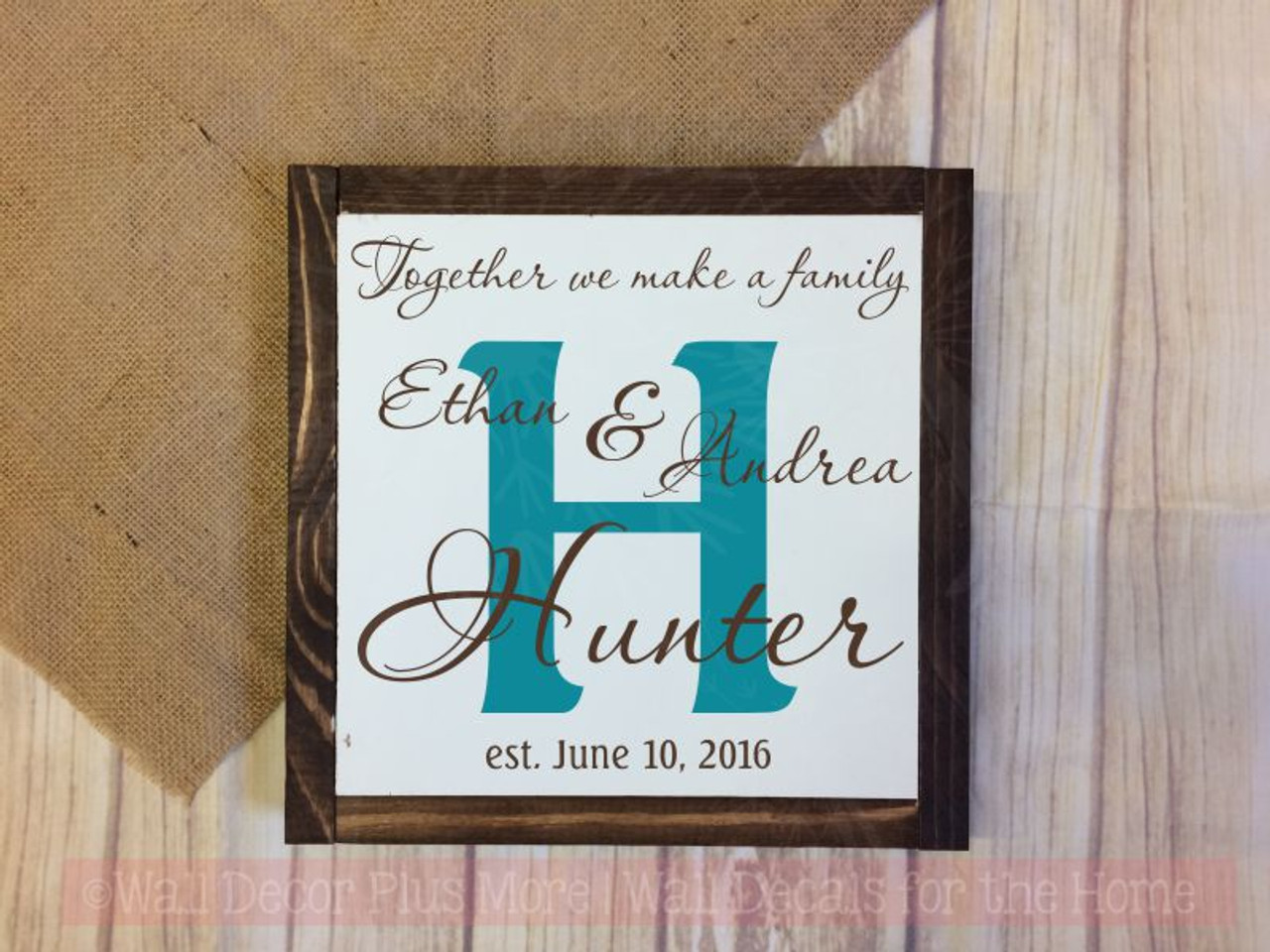 Wedding Couple Personalized Design With Background Letter Wall