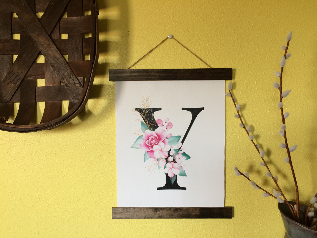 Large Monogram Letters Wall Decor from cdn11.bigcommerce.com