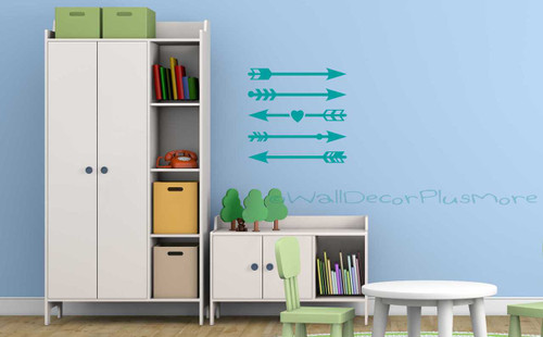 Assorted Arrow Design Wall Decals Stickers Modern Art for the Home
