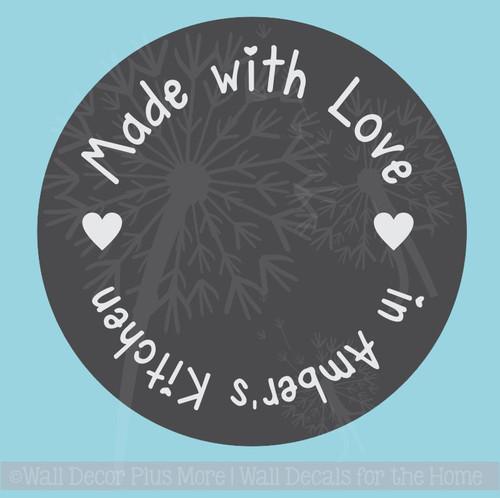 Wedding Shower Gift Vinyl Stickers Decals Stencil for Etching on Glass