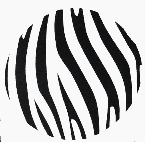 Teen Girl Fun Zebra Dot Stickers