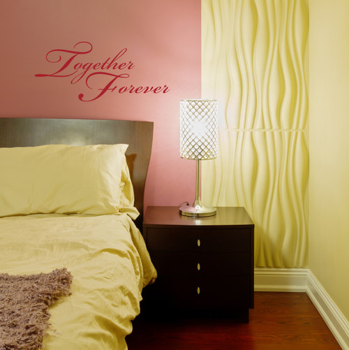 Together Forever Wall Sticker Decals Popular for Home Decor or Master Bedroom