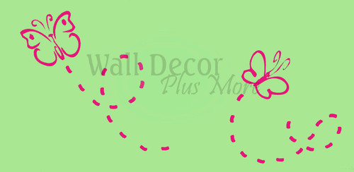 Butterfly Wall Stickers Vinyl Decals for Fun Girls Room Decor