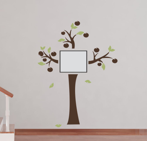 Tree Wall Decal Sticker Art for Family Photo