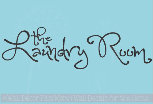 The Laundry Room Wall Letters for Home Decor Wall Sticker Decals