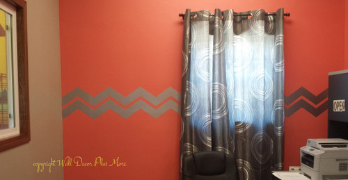 Chevron Stripe Wall Decals for Home Decor