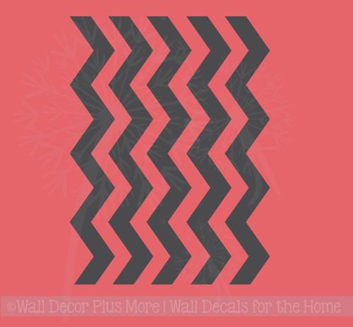 Chevron Stripes Decals Kitchen Appliance Stickers Vinyl Decor