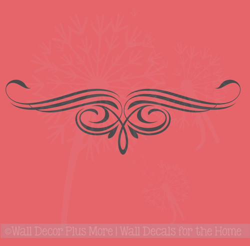 Scroll Vine Curls for Home Décor Wall Art Decal Vinyl Stickers