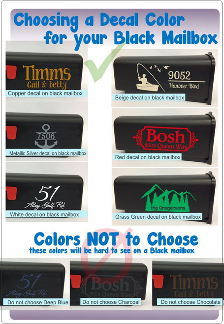 Choosing Decal Colors