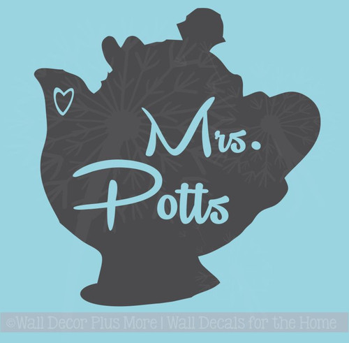 Mrs Potts Instant Pot Decal Vinyl Art Stickers Fun Kitchen Decor
