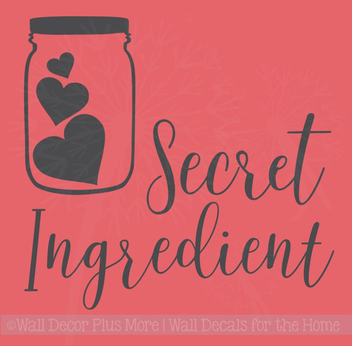 Secret Ingredient Instant Pot Decal Vinyl Art Stickers Kitchen Decor