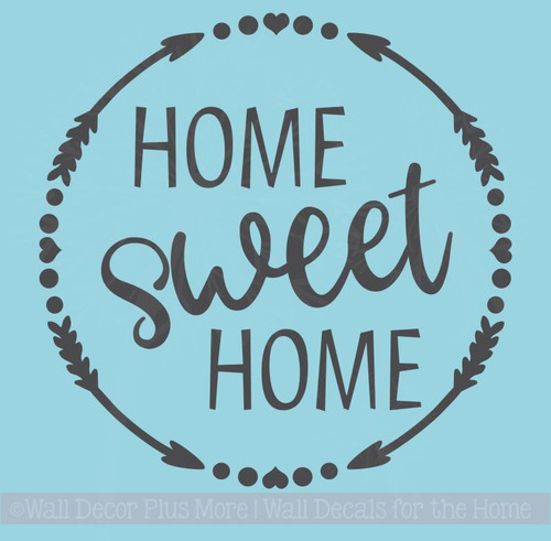 Home Sweet Home Kitchen Wall Art Stickers Vinyl Letter Home Décor Decals