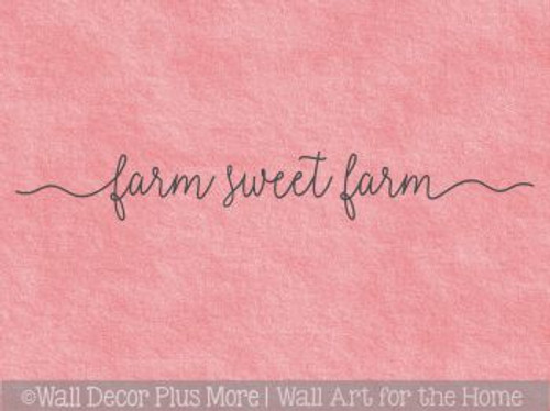 Farmhouse Style Decor Farm Sweet Farm Kitchen Vinyl Lettering Stickers