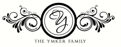 Family Name Monogram Letter Wall Art Decal Home Decor