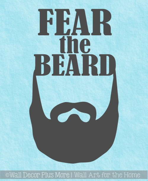 ec5b9e4b4ccc Car Tumbler Decals Fear The Beard Best Dad Gift Fathers Day Mug Stickers