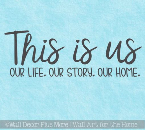 Wall Decal For Kitchen This Is Us Home Decor Popular Art Vinyl Sticker