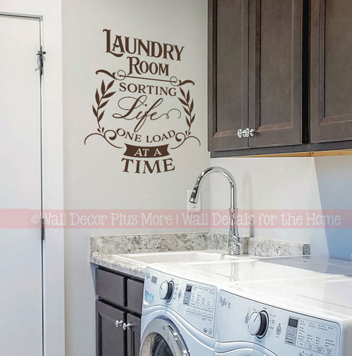 I Love Laundry Said No One Ever Vinyl Decal For Laundry Room Walls  Diff Colors