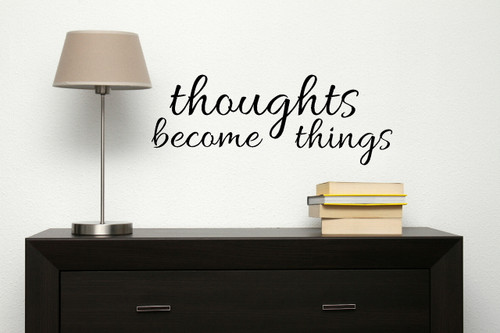 Inspiring Affirmation Wall Decal Sticker Quote for the Home Decoration