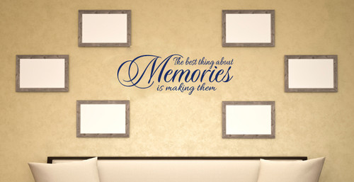 Home Quote Memories Wall Decals Vinyl Stickers Room
