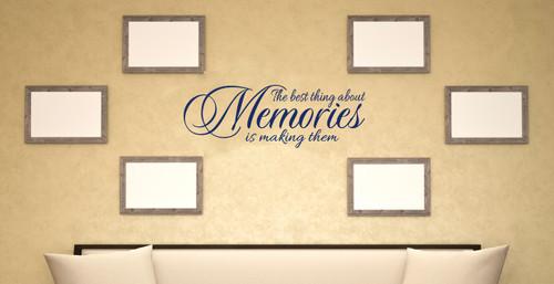 Home Quote Memories Wall Decals Vinyl Stickers Room