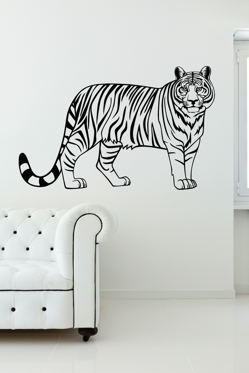 Tiger Baby Wall Decal Stickers