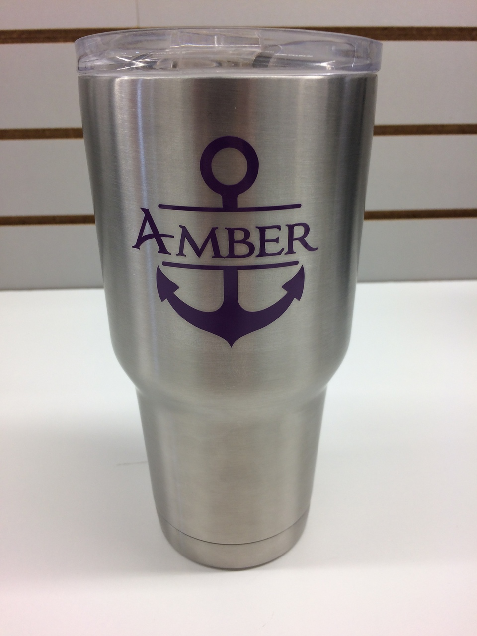 Vinyl stickers decals with anchor for rtic or yeti tumblers 3x3 inch set