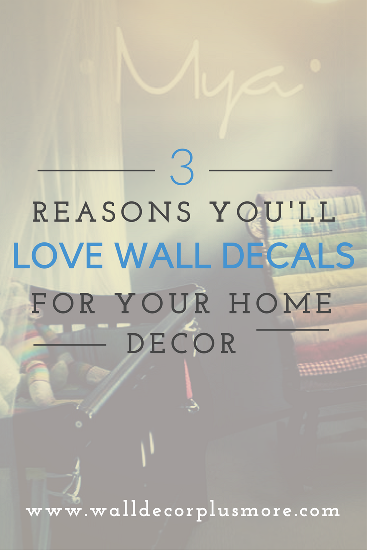 3 reasons why you will LOVE our Wall Decal Stickers