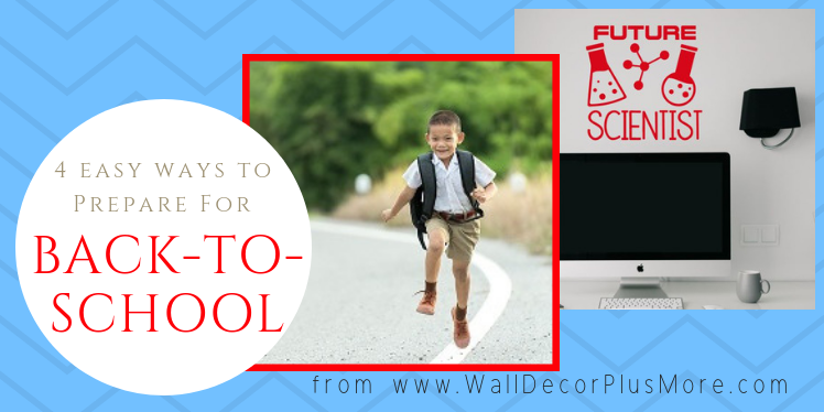 4 Ways to Prepare for Back-to-School Season