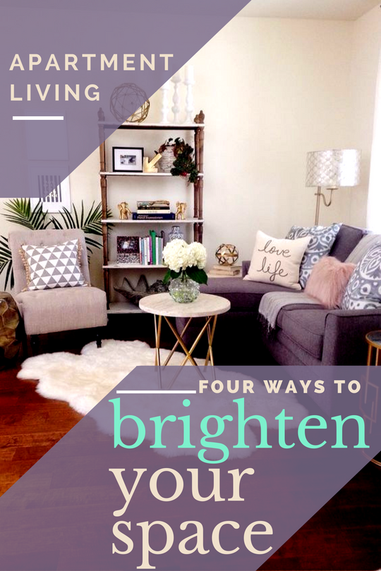 Four Ways to Brighten Your Walls Without Losing Your Security Deposit