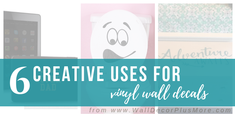 Pssst! Vinyl Decals Aren't Just for Walls