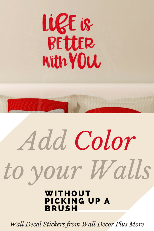 Adding Color to Your Walls Without Picking up a Brush