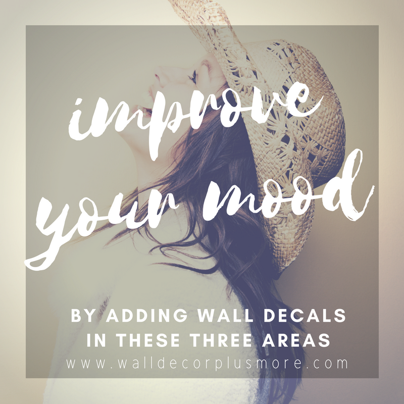 3 Places to Add Vinyl Decals to Improve Your Mood