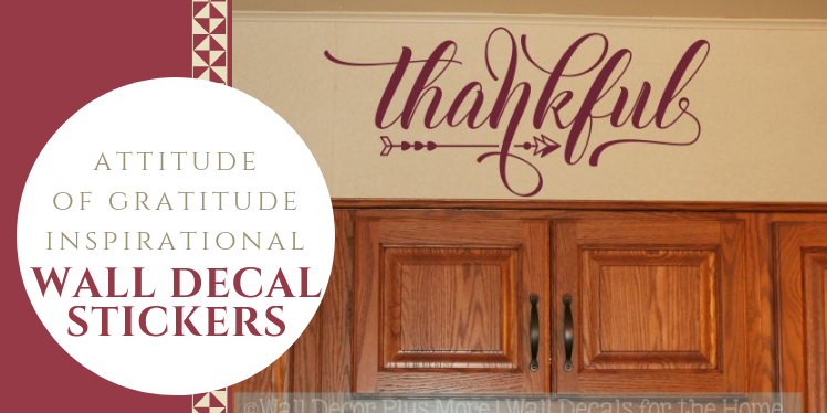 Attitude of Gratitude Wall Decor