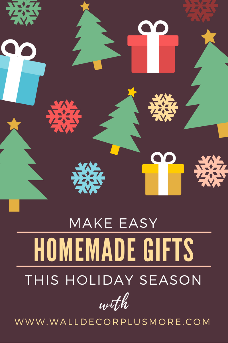 Make Easy Homemade Gifts this Holiday Season with Vinyl Decals