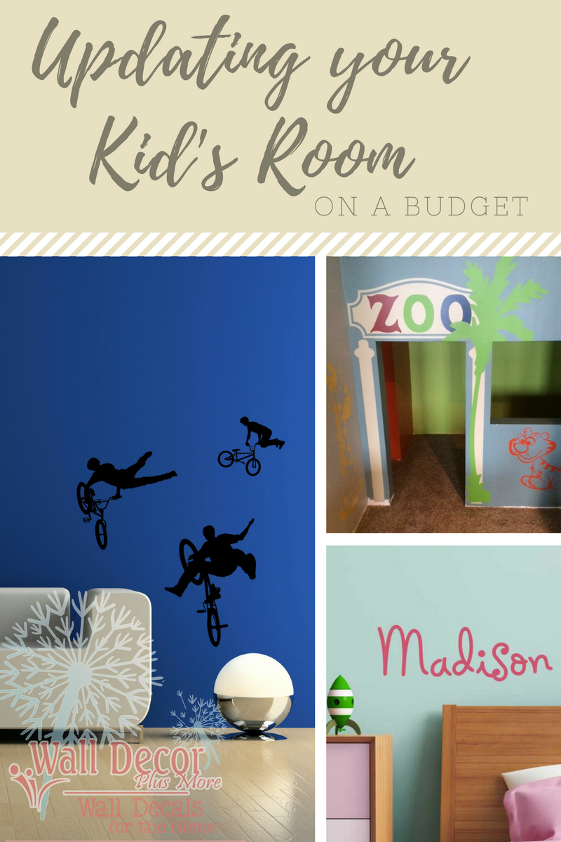 Updating your Kid's Room on a budget