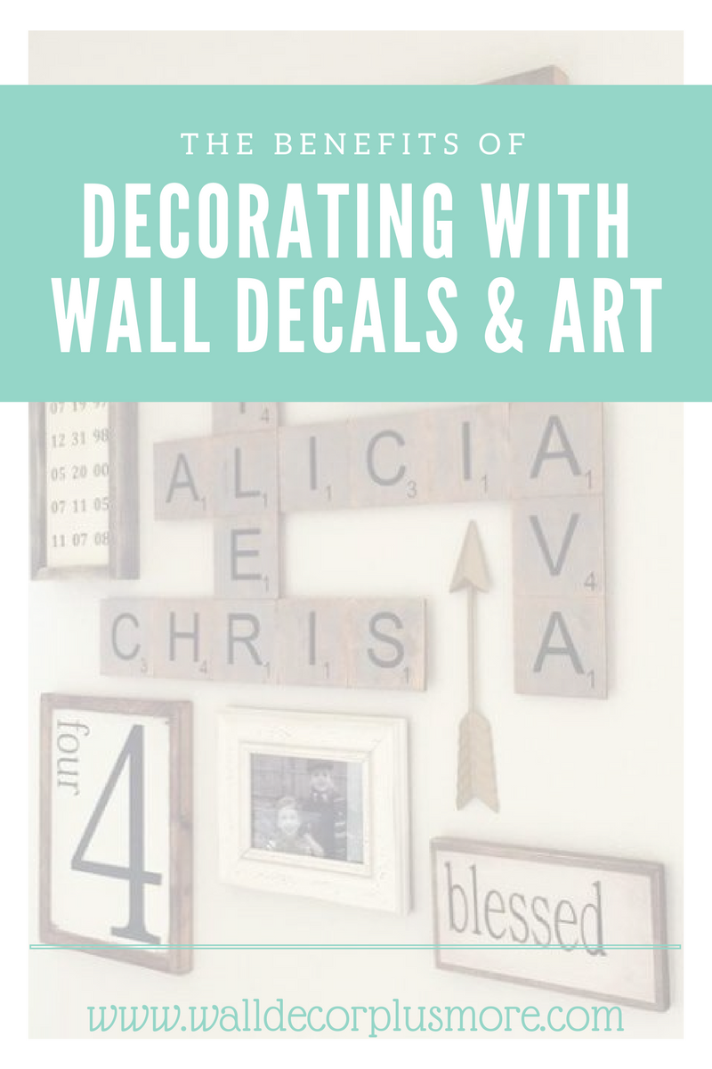 The Benefits of Using Our Family Wall Decals and Art: Decorating with Love